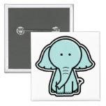Baby Elephant Sticker Badge