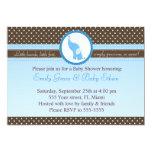 Baby Elephant Sweet invitation Shower or Birthday