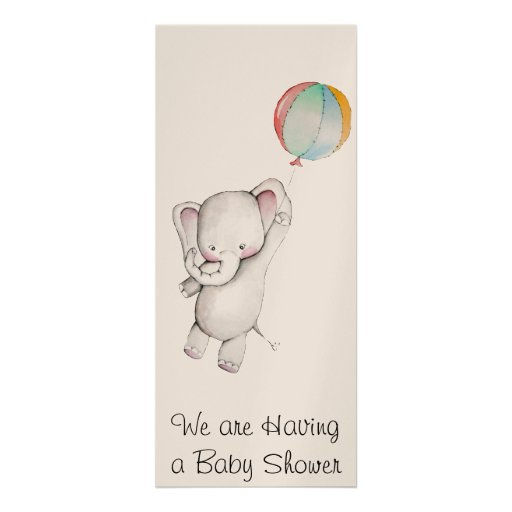 Baby Elephant Baby Shower Invites for luxury invitation template
