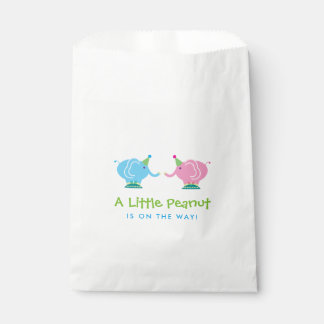 Baby Elephants Gender Reveal Baby Shower Favour Bags