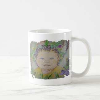 baby elf2 basic white mug