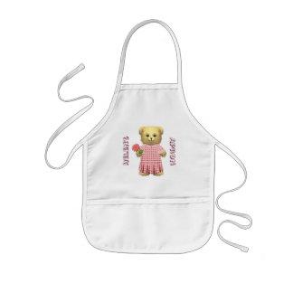 Baby Ella Bear's Spring bear Kids Apron