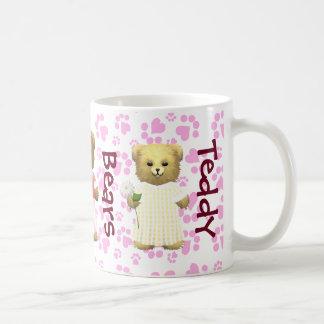 Baby Ella Flower Bear's Basic White Mug