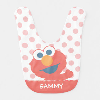 Baby Elmo | Add Your Name Baby Bib
