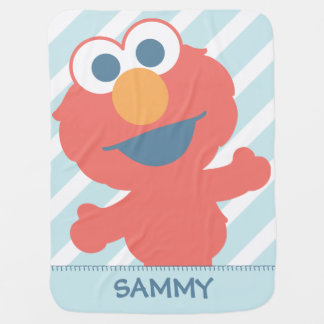 Baby Elmo | Add Your Name Baby Blanket