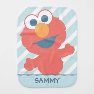 Baby Elmo | Add Your Name Baby Burp Cloth