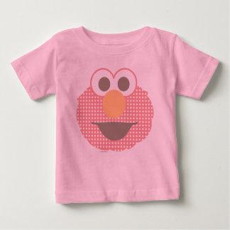 Baby Elmo Big Face Polka Dot Baby T-Shirt