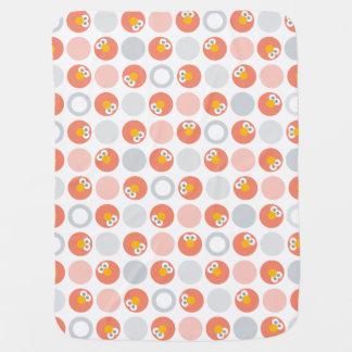 Baby Elmo Circle Pattern Baby Blanket