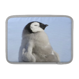 Baby Emperor Penguin, Snow Hill Island Sleeve For MacBook Air