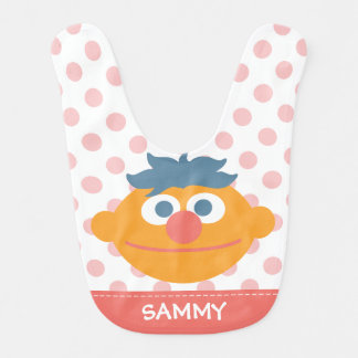 Baby Ernie Face   Add Your Name Baby Bibs