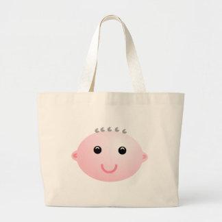 Baby Face Bobe Canvas Bag