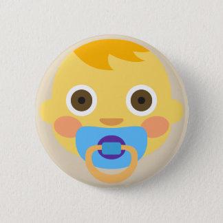 Baby Face Emoji 6 Cm Round Badge