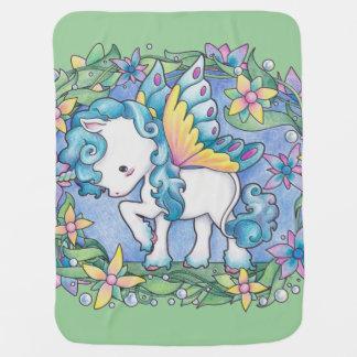 Baby Faerie Unicorn Blanket Buggy Blankets