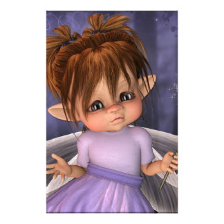 Baby Fairy fantasy Customised Stationery