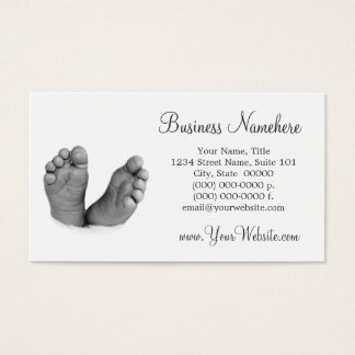 Baby Feet Business Cards