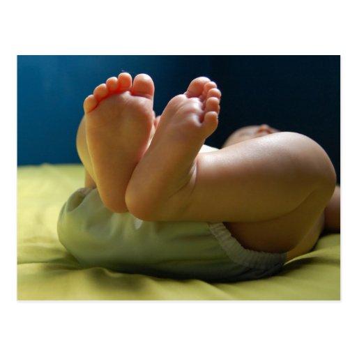 Baby Feet Dreams Post Cards