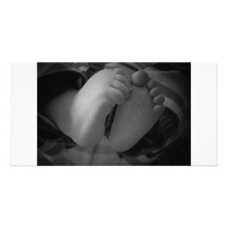 Baby Feet Picture Card