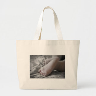 Baby Feet Tote Bags
