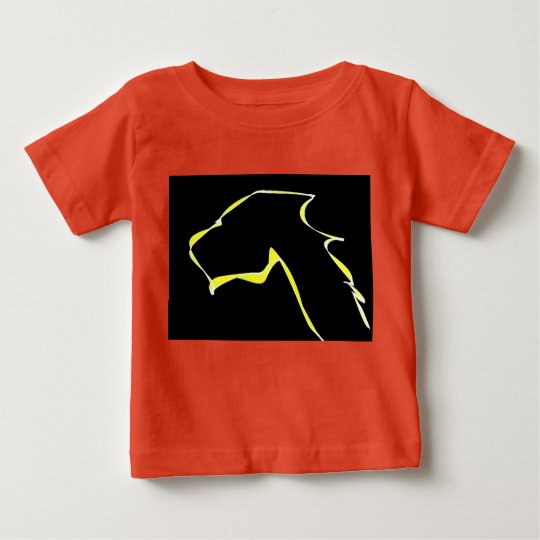Baby Fine Jersey flame dog Baby T-Shirt
