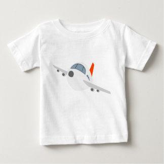 Baby Fine Jersey T-Shirt Aircraft