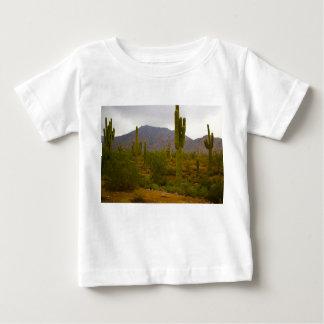 Baby Fine Jersey T-Shirt Bright Sahuaro Cacti