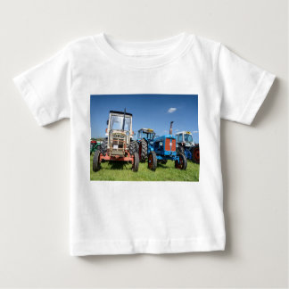 Baby Fine Jersey T-Shirt | Tractors | All Colours