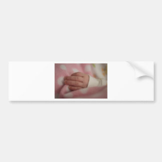 Baby fingers bumper sticker