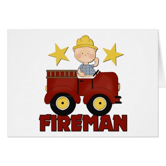 Baby Fireman Card