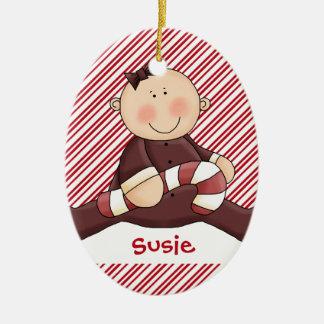 Baby First Christmas Girl Christmas Ornament