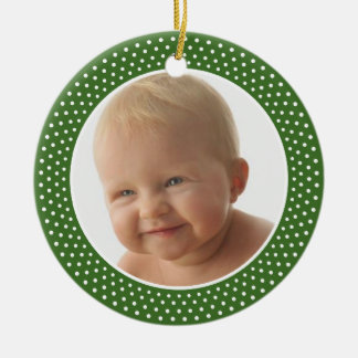 Baby First Christmas - PHOTO FRAME Ornament
