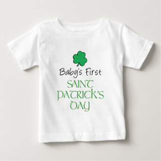 Baby First St Patricks Day Baby T-Shirt
