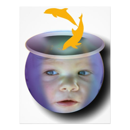 Baby Fish Bowl Flyer Design