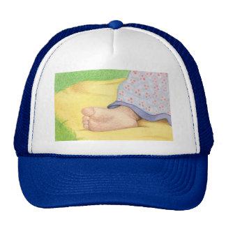 Baby foot cap