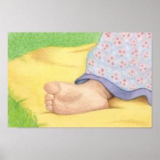 baby foot - large print