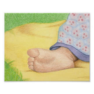 baby foot poster
