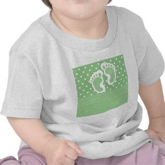 Baby  Footprints Adorable T-shirt