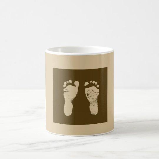 Baby Footprints Coffee Mug