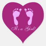 Baby Footprints (Girl)