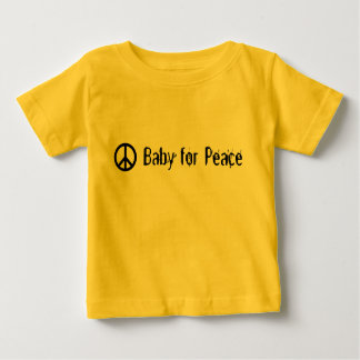Baby for Peace Baby T-Shirt