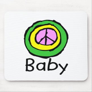 Baby For Peace! Mouse Pad