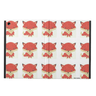 Baby Fox Pattern iPad Case