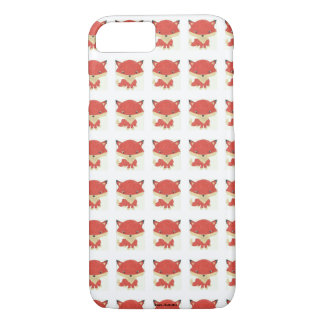 Baby Fox Pattern iPhone Case