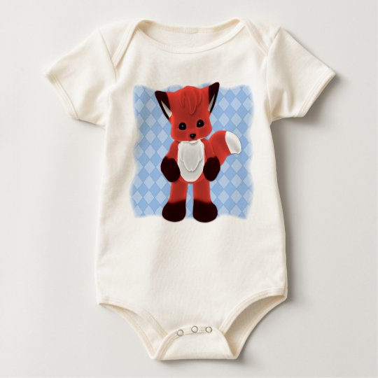 Baby Fox Toon Friend T-Shirt
