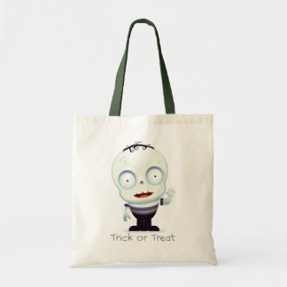 Baby Frankenstein Trick or Treat Bag