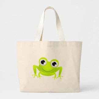 Baby Frog Large Tote Bag