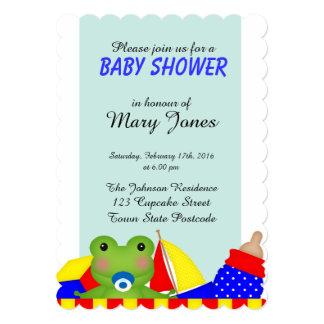 Baby Froggy 'Baby Shower' Invitation