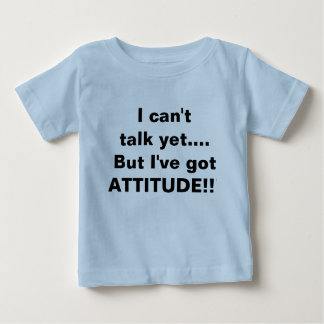 Baby funny saying tshirt