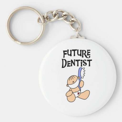 Baby Future Dentist T-shirts and Gifts Key Chain