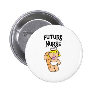 Baby Future Nurse 6 Cm Round Badge