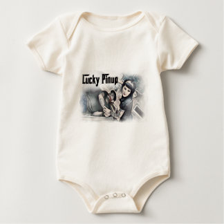Baby Gangster Pinup Baby Bodysuit